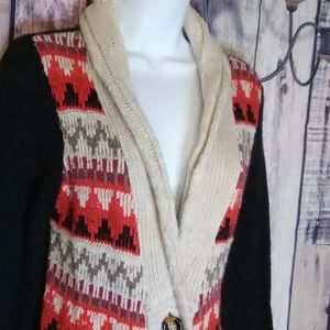Maurices Mulit Colored Cardigan